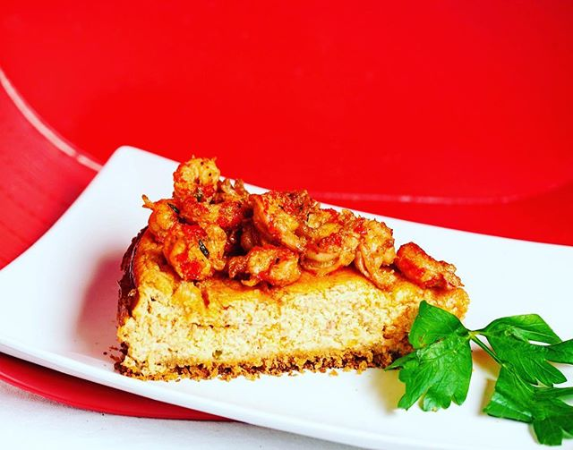 Crawfish season is  soon upon us . Our ode to one of our favorite place for inspiration #neworleans. We bring to you a savory desert ,  crawfish cheesecake. You welcome !!! . . 📸 @piercestudiolab . . #foodart #nycfood #caribbeaninspired #nyccaterer #table7nyc  #edibleart  #instafood #nyceats #foodporn #instafoodie #yumyum #crawfish #cheesecake #savorydesert