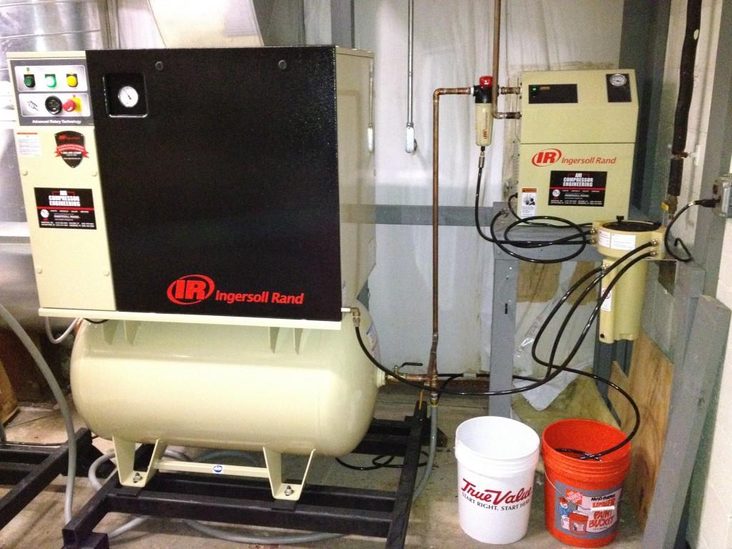 Air Compressor Setup