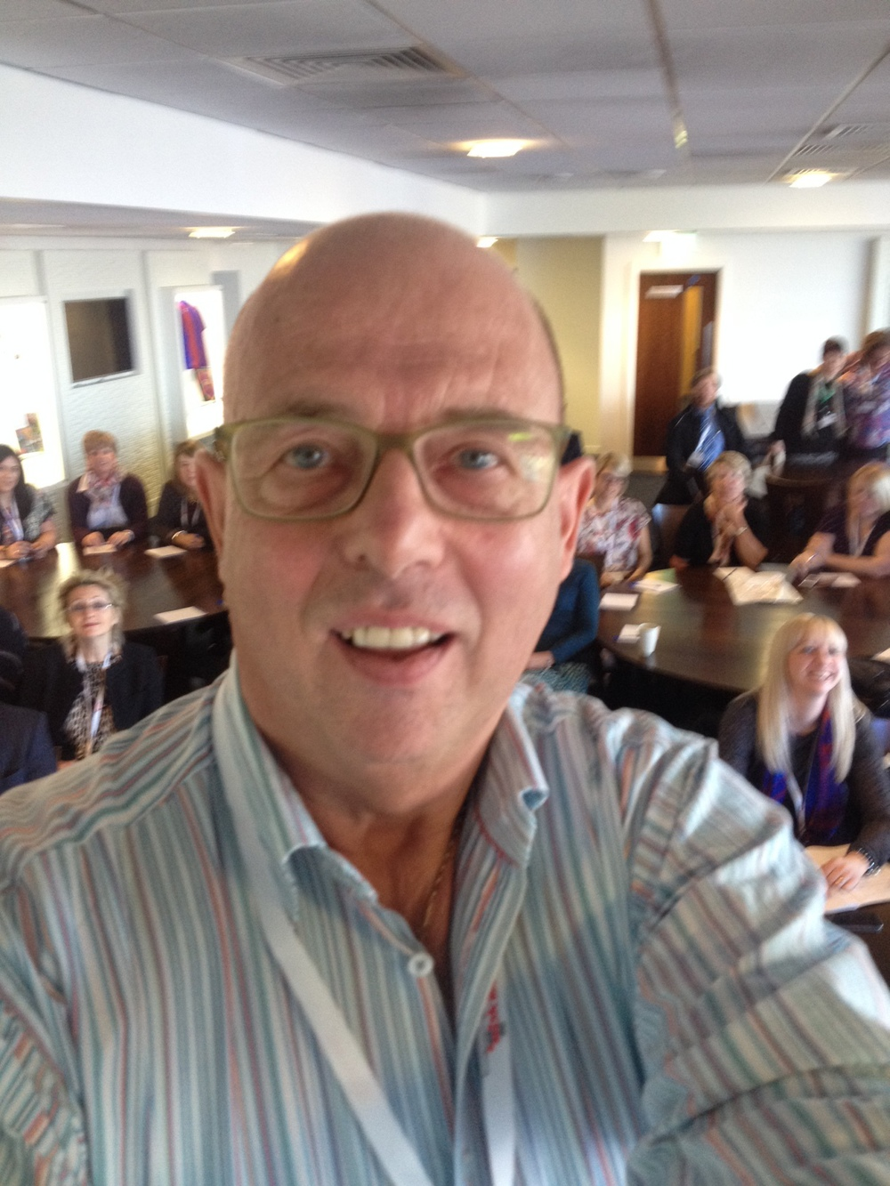 Selfie at Skills conference