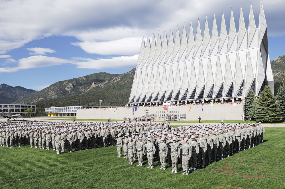 """Air Force Academy Oath of Office"" cc image courtesy of Wikimedia Commons"