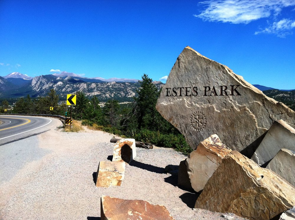 """Estes Park Sign"" cc image courtesy of Mr.Tindc on FLICKR"