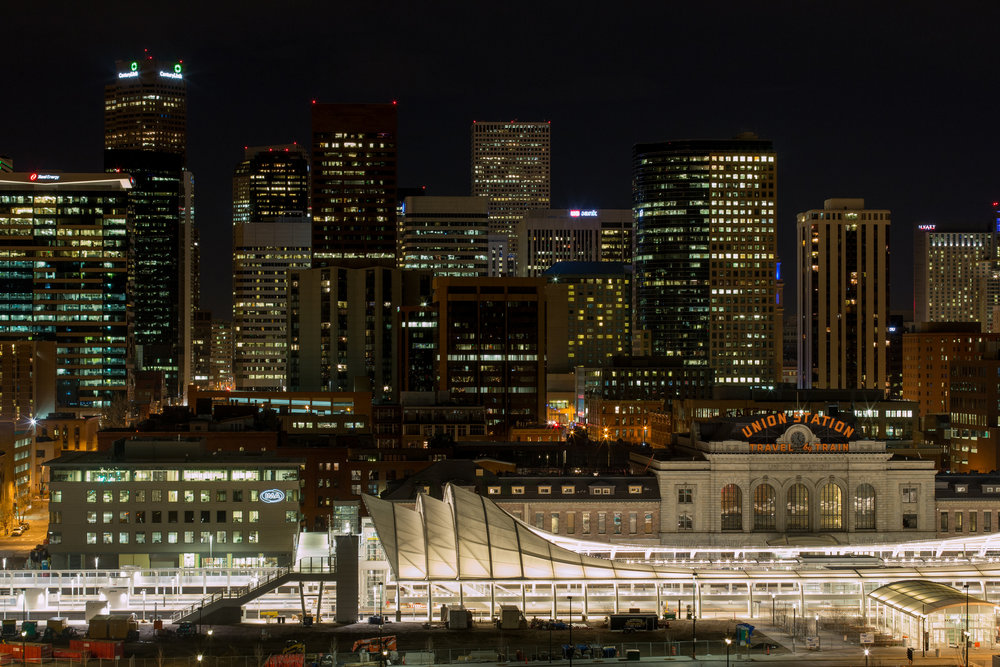 """Denver Skyline"" cc image courtesy of Stan Mouser on FLICKR"