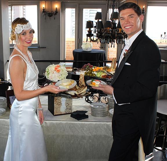 Great Gatsby Wedding - The Clocktower