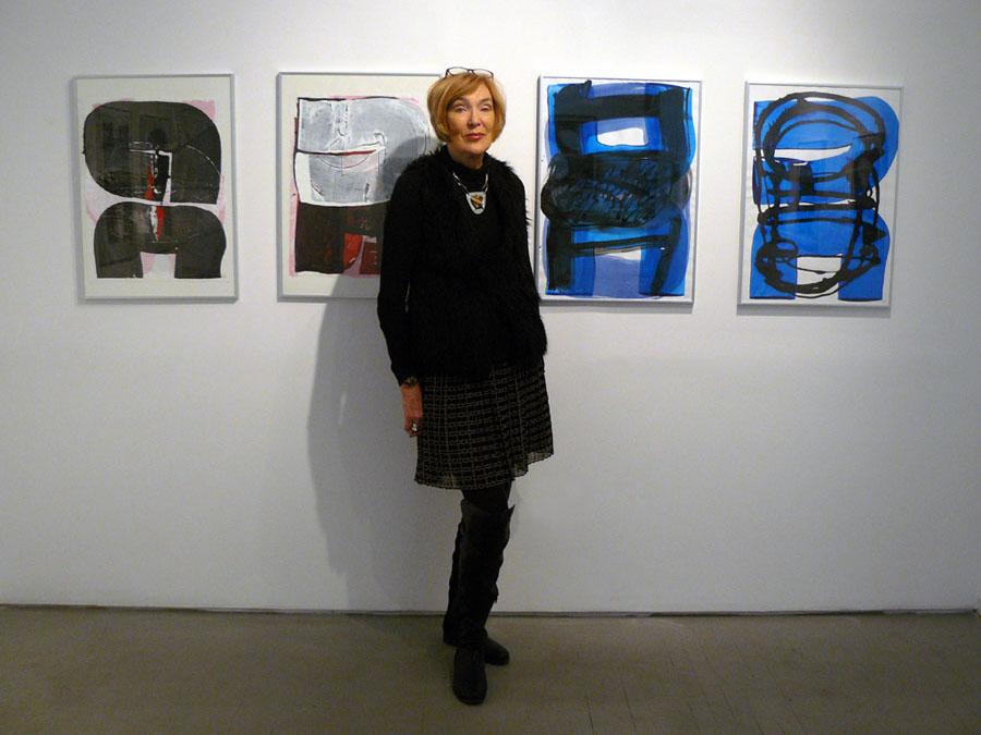 Paulien Lethen and her paintings, Wook Choi Gallery, NYC©2016 Elisa Decker - kopie.jpg