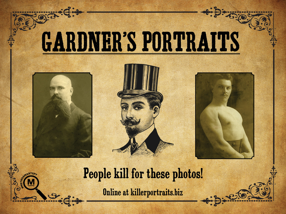 Alexander Gardner was a photographer in Washington, DC. After the assignation of President Abraham Lincoln, Gardner's portraits of accused conspirators John Wilkes Booth and John Surratt were used for their respective WANTED posters.
