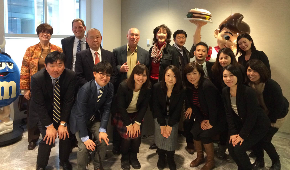 MDB hosts a Japanese Delegation of marketing professionals