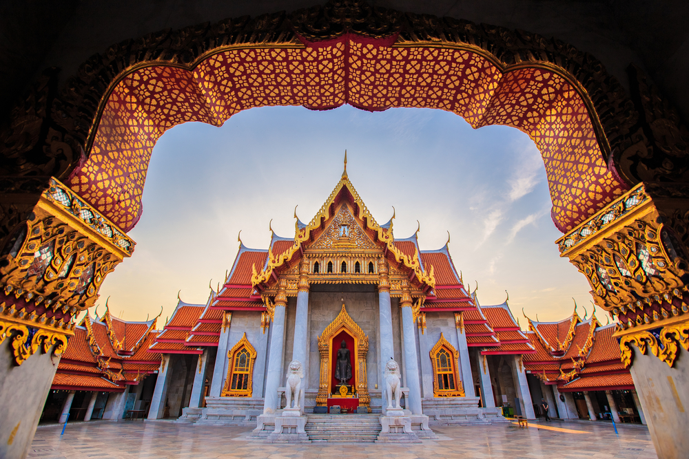 Wat Benchamabophit Dusitvanaram (aka The Marble Temple)Bangkok, Thailand
