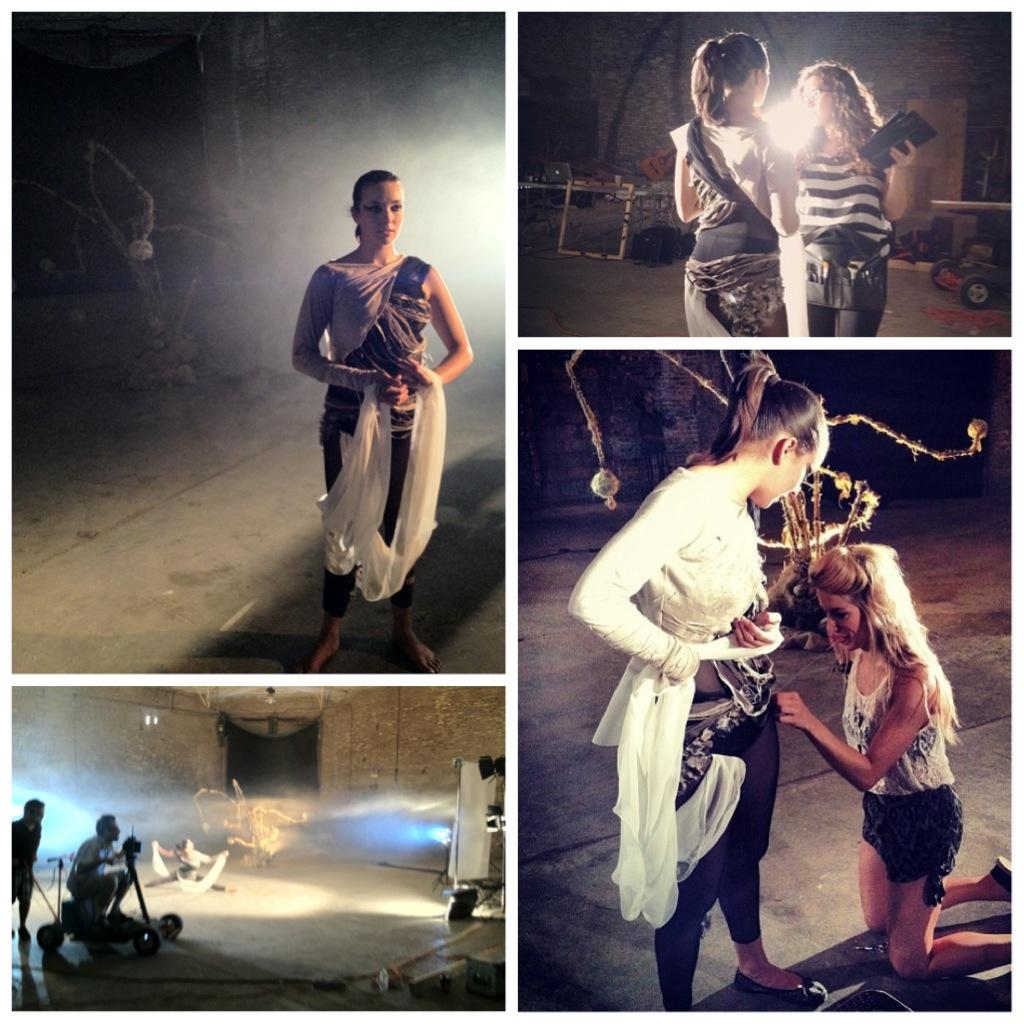 [ dance wardrobe ] // on set!