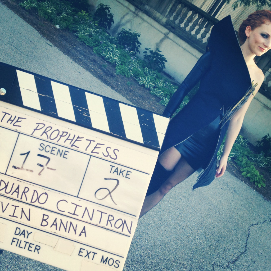 [ video shoot ] // the prophetess