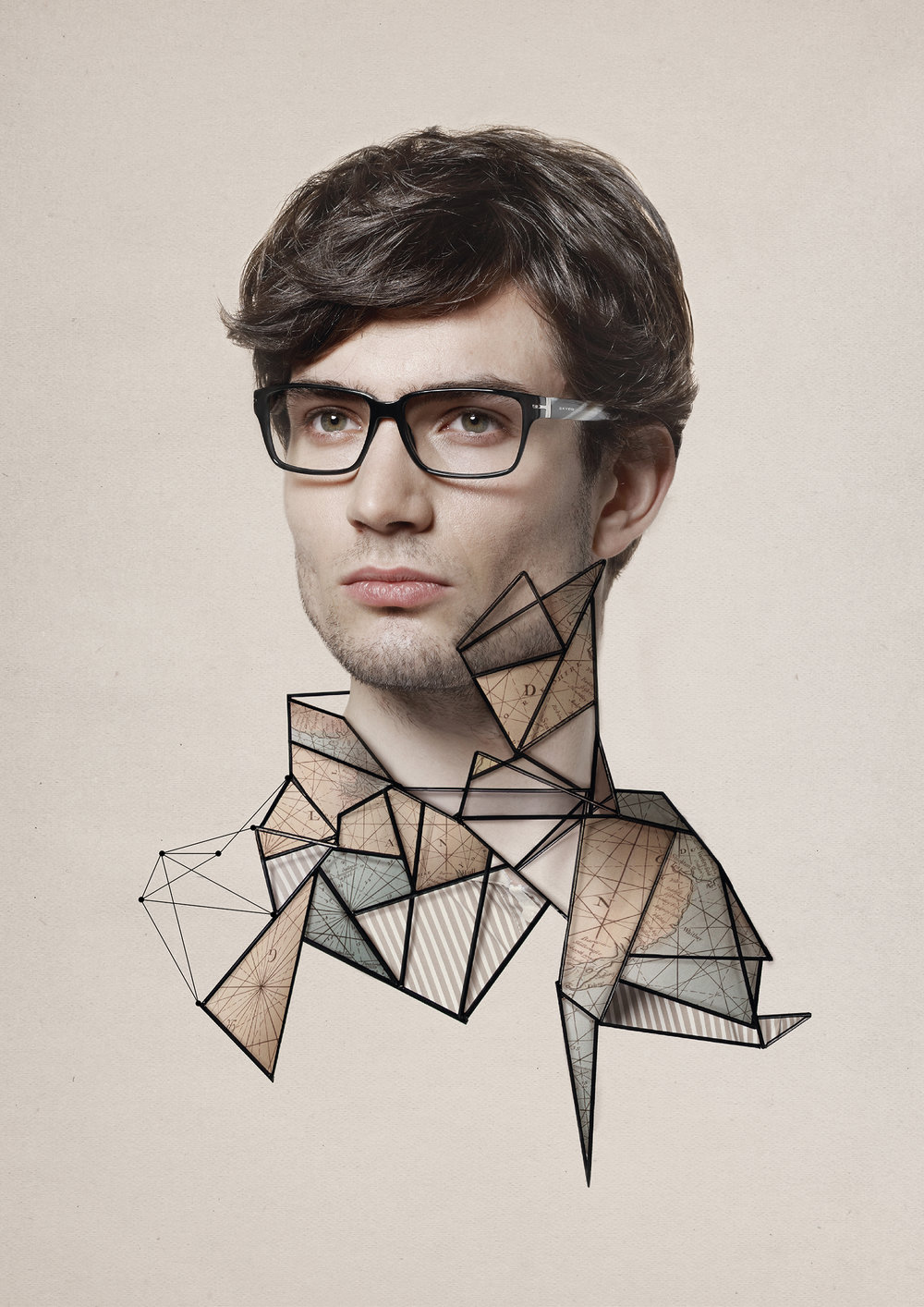 Poster for the eyewear brand Oxydo.  View more