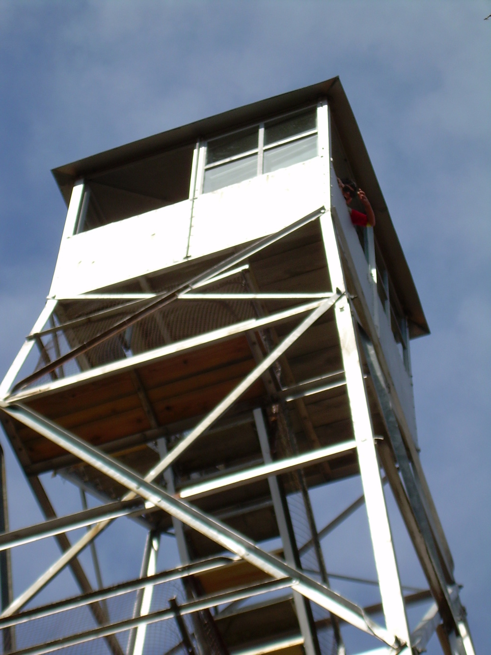 Mt. Tremper Fire Tower Cab