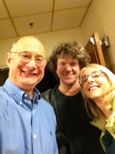 Michael Drillinger, Michael Lang and Deborah DeWan