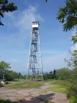 fire tower project catskill center