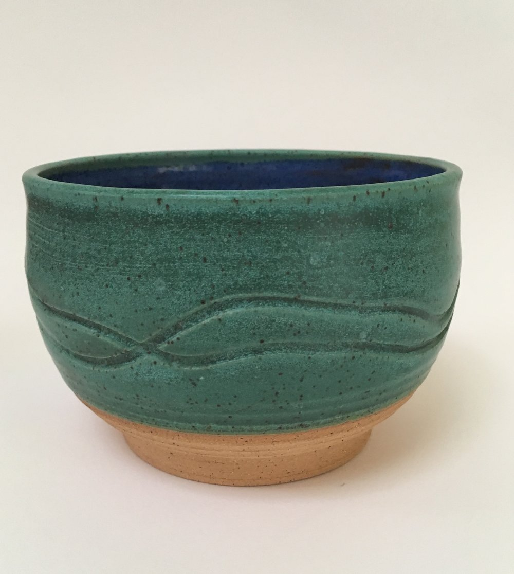 Green and Blue Bowl - RD
