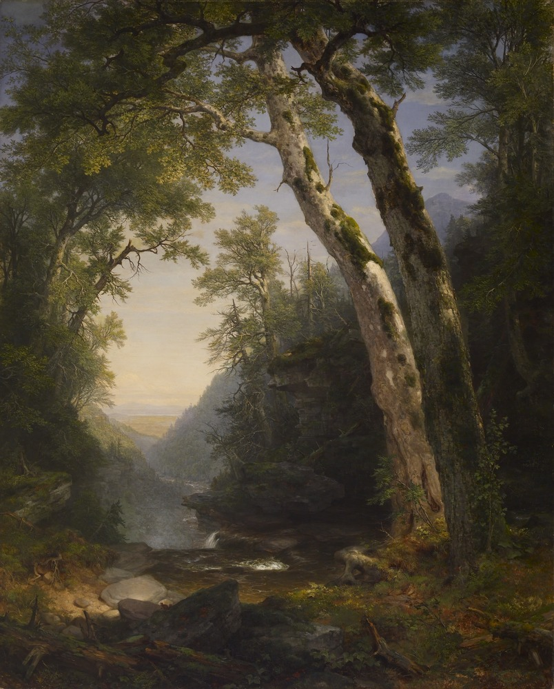 Asher B. Durand.  The Catskills .
