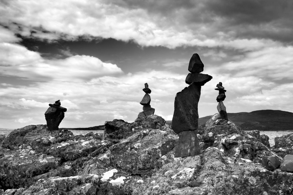 An Instagram trend that's littering national parks with towers of carefully balanced stones, #StoneStacking can cause erosion and damage ecosystems.   Photograph by Sam Oakes / Alamy