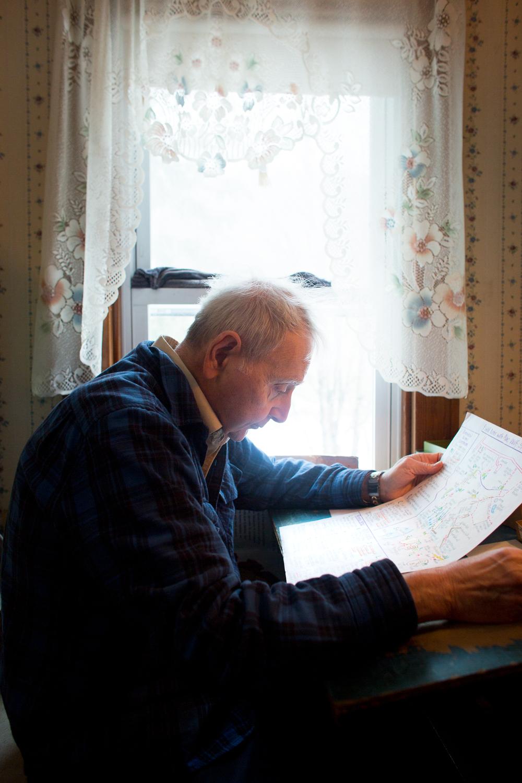 Michael Kudish at home.