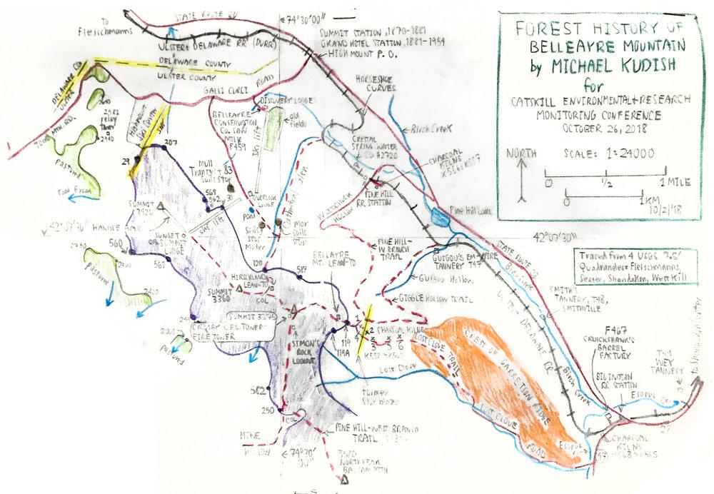 Kudish's Forest History of Belleayre Mountain