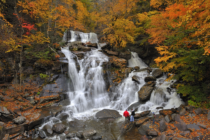 Photo: Bastion Falls at the start of the Kaaterskill Falls Trail by Diana Robinson
