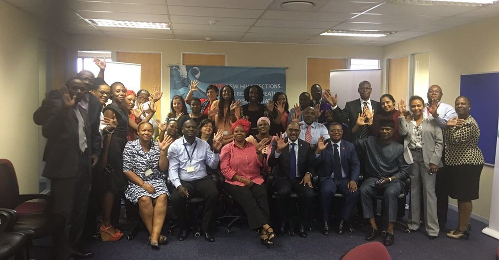 UNAIDS ExD and the Regional Support Team ESA in Johannesburg, South Africa
