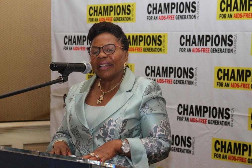 Senator Monica Mutsvangwa
