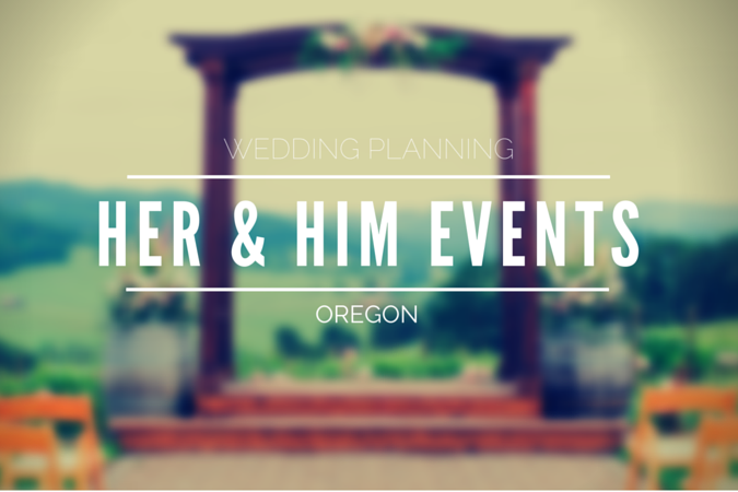 Salem Oregon Wedding Planning