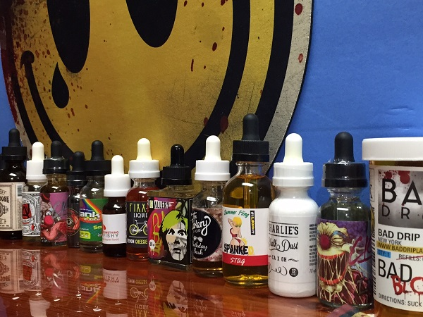 We have every eJuice that exists. Yes we are crazy about vaping.