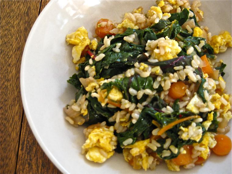 Egg 'Fried' Rice
