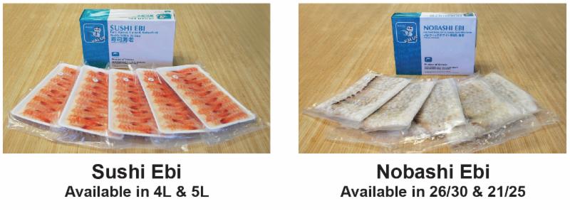 Maneki® Value Sushi and Nobashi Ebi