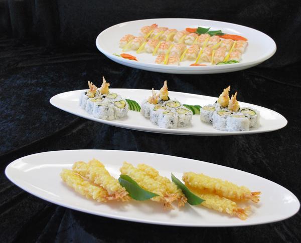 Maneki® Value Sushi and Nobashi Ebi for your Sushi Buffet