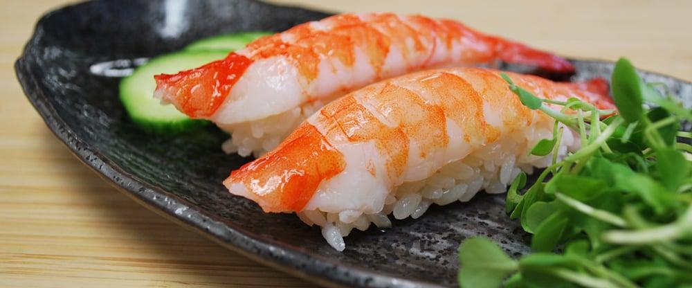 Sushi Ebi Ikejime Pacific White Dni Group Sashimi Grade