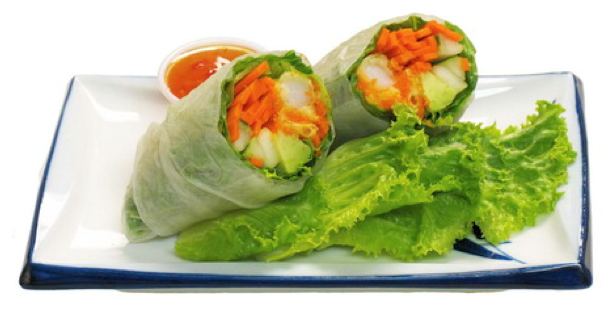Spring Roll with Tezukuri® Tempura Shrimp