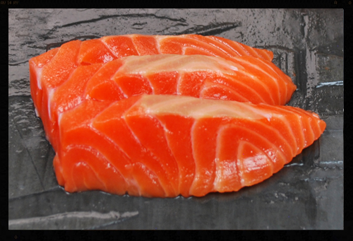 All Natural Sushi Style Cold Smoked Salmon (Trim D)