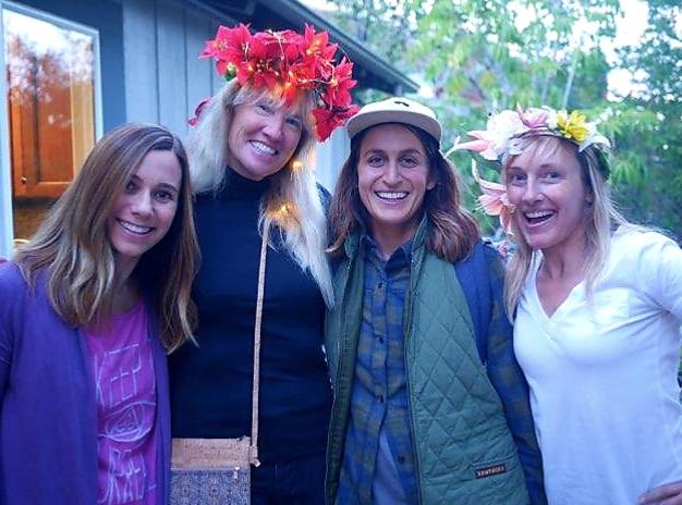 Kristen, Alison, Christine & Roberta Walker- Compliments of Alison