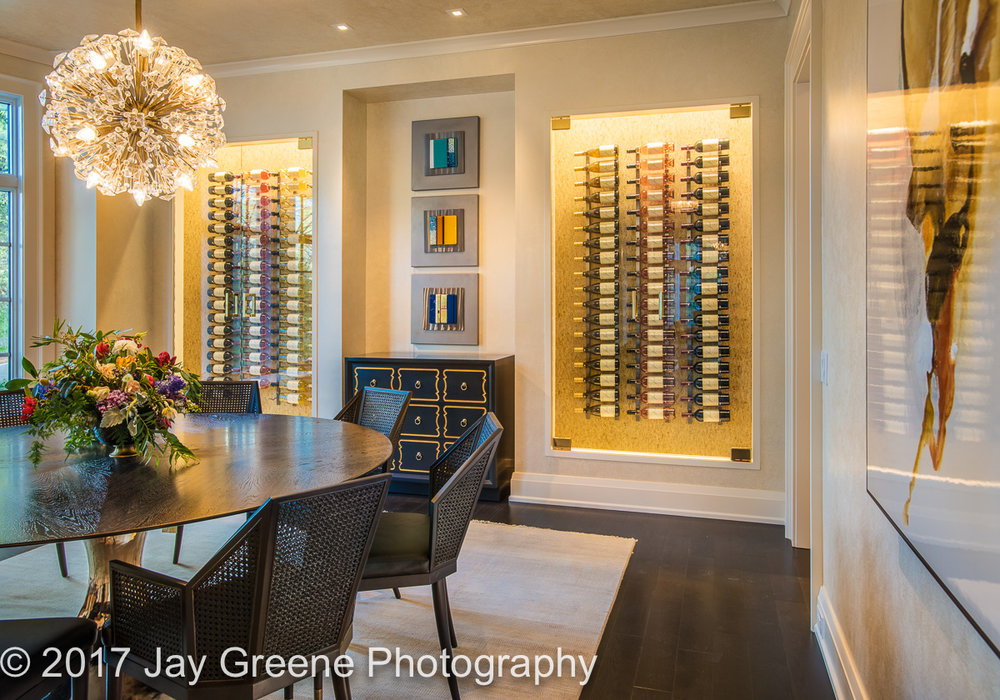 Best Wine room by Winslow Interior Design from the 2017 Philadelphia Magazine Design Home.
