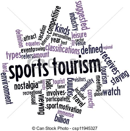 sports tourism Sports tourism refers to travel which involves either observing or participating in a  sporting event while staying apart from the tourists' usual environment sport.