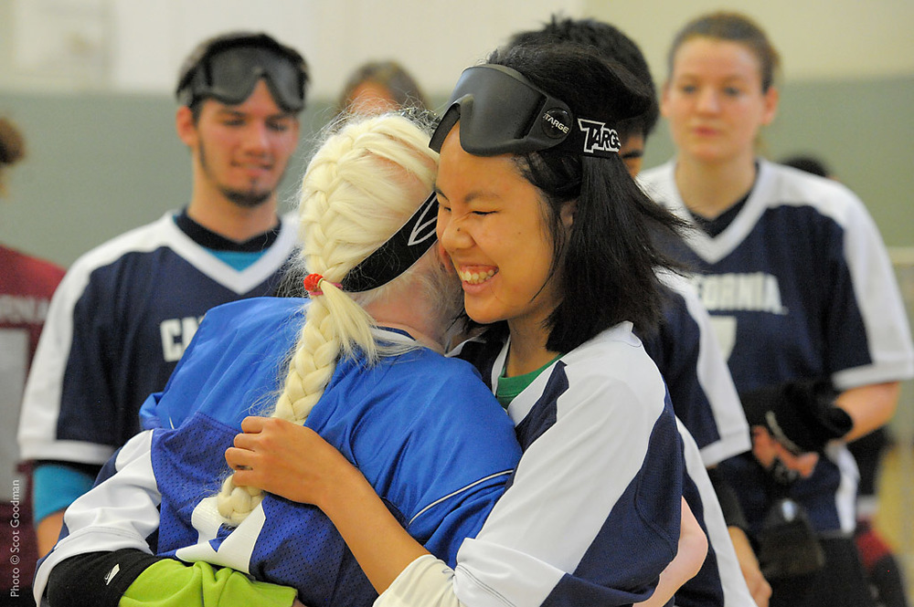 Goalball Hugs