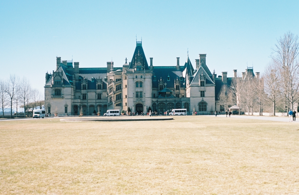 Then we headed over to the Biltmore or Downton Abbey as I like to call it.