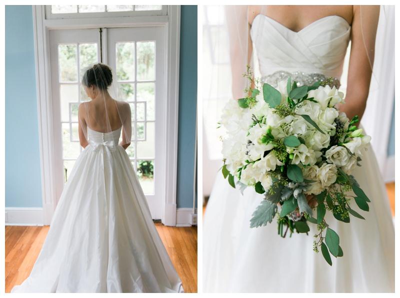 bride bouqet savannah wedding photographer