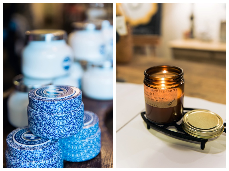 I love the Capri Blue Volcano candles + those from P.F. Candle Co