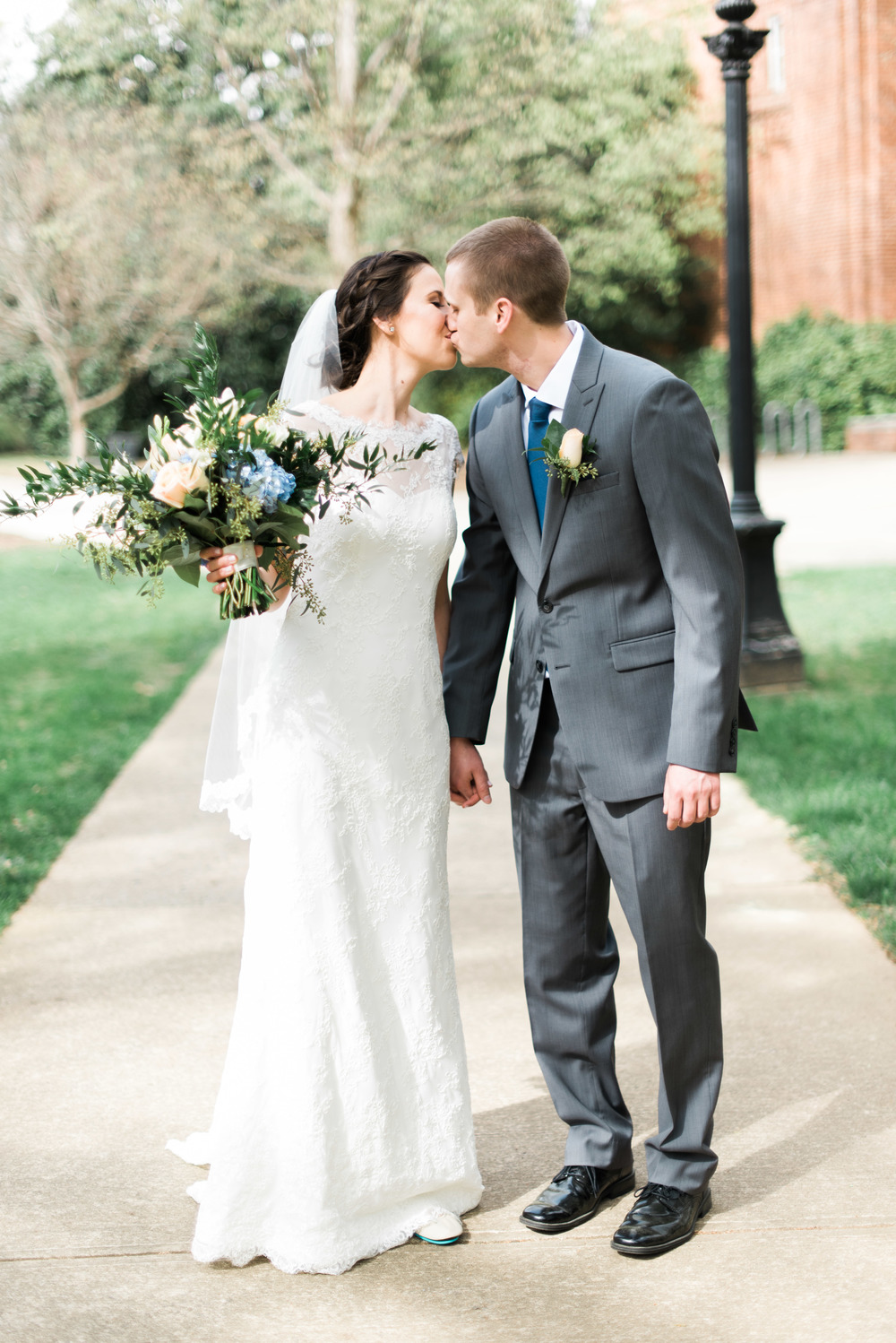bride and groom uga athens wedding photographer