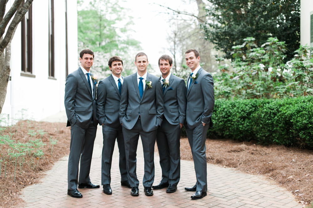 uga groomsmen athens wedding photographer