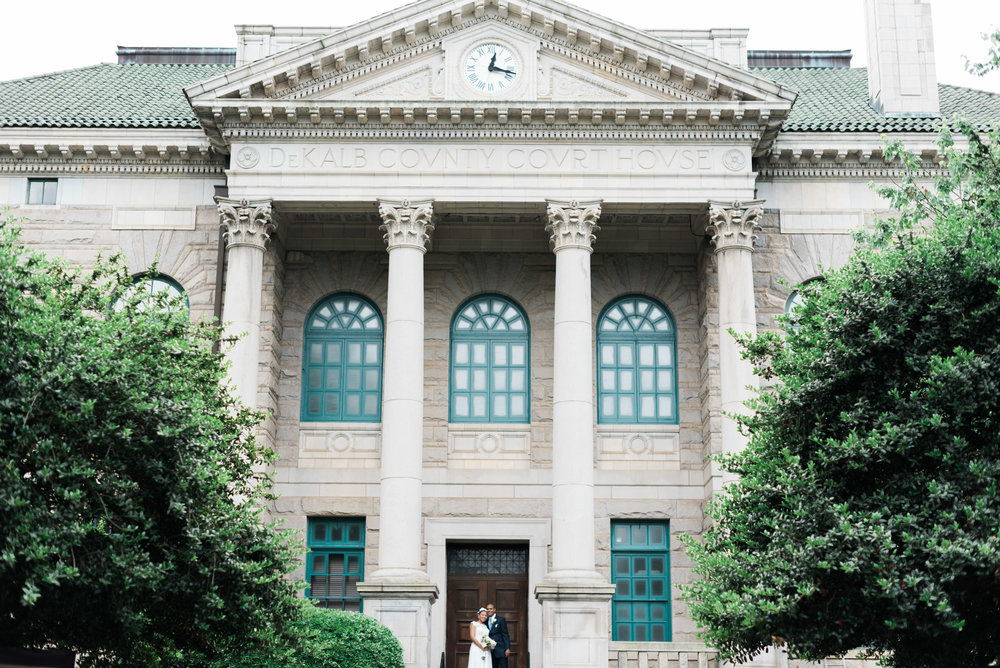 old decatur courthouse atlanta wedding photographer