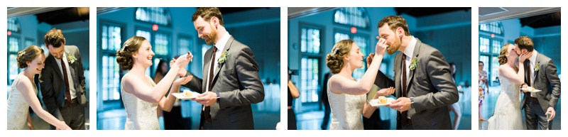 cake cutting the greystone piedmont park atlanta wedding photographer