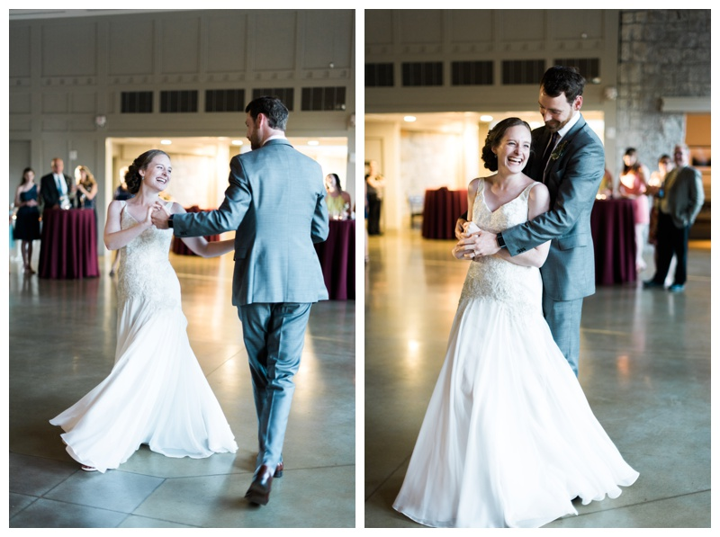 first dance the greystone piedmont park atlanta wedding photographer