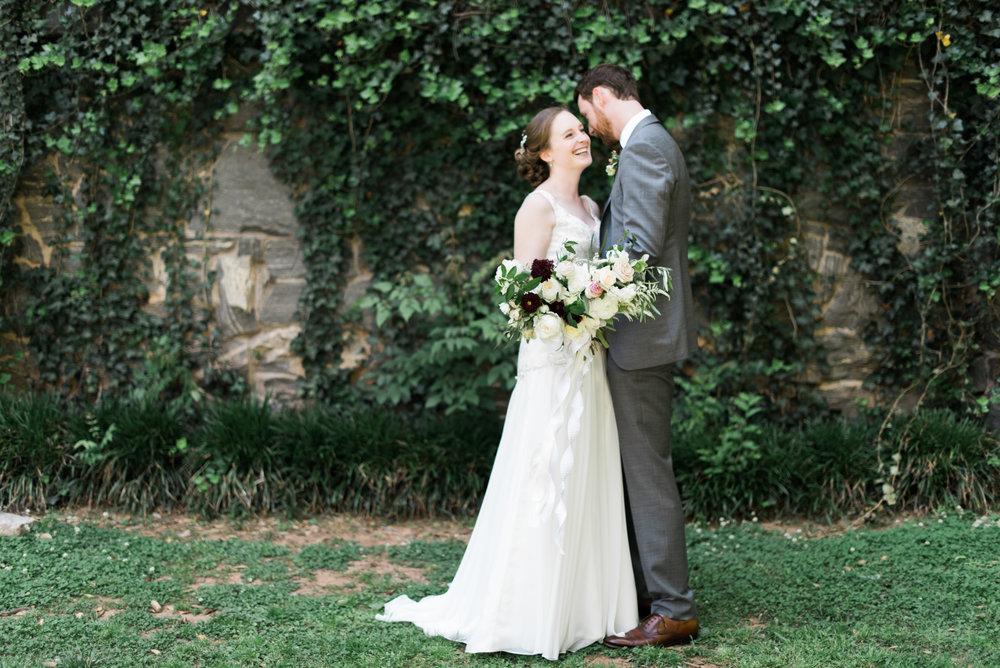 bride and groom the greystone at piedmont park atlanta wedding photographer