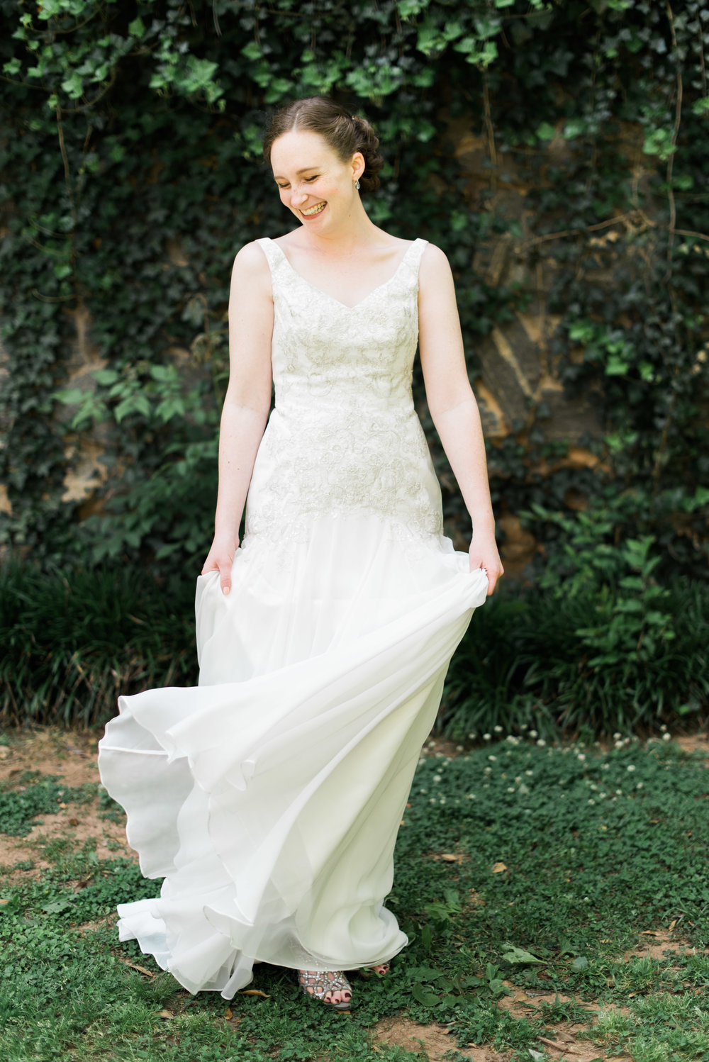 bride the greystone at piedmont park atlanta wedding photographer