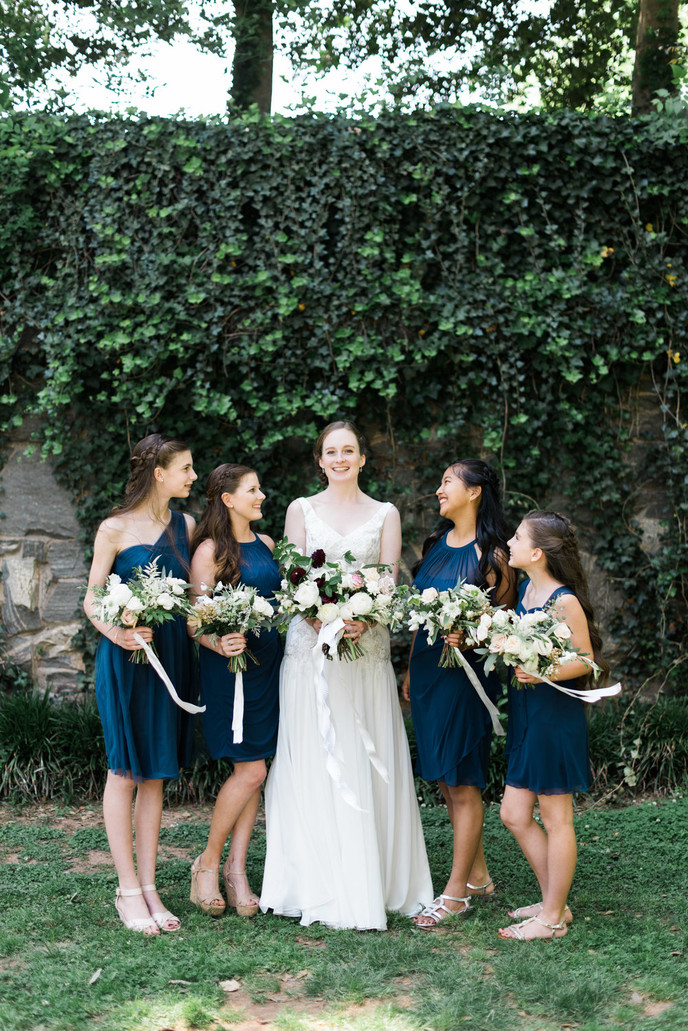 bridesmaids the greystone at piedmont park atlanta wedding photographer