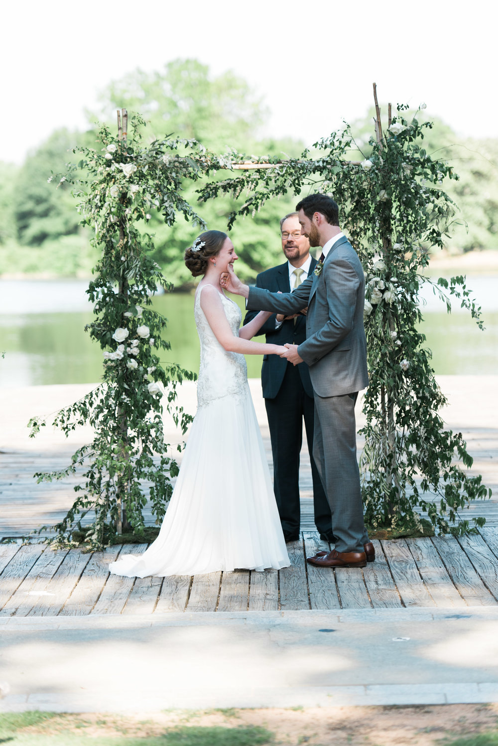ceremony dockside piedmont park atlanta wedding photographer