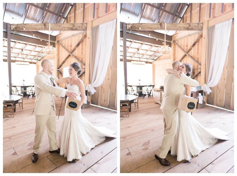 first look deep south farm ellijay north georgia atlanta wedding photographer